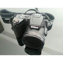 Camera Forografica Nikon Coolpix L120 + Cartao Sd