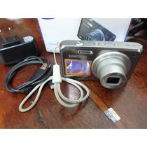 Máquina Fotográfica Samsung 16 Mp Hd 2 Visores + 16 Gb Sdhc