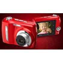 Câmera Digital Kodak Easyshare C142 Verm C/ 10mp/lcd 2,5 C/