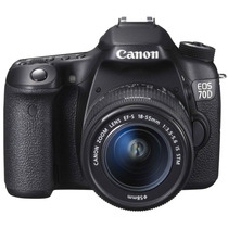 Canon Eos 70d + Kit 18-55mm Stm - 20mp