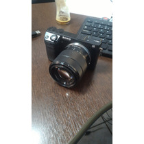 Camera Sony Nex7 C/ 18-55 Semi Nova Poucos Cliques