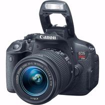 Câmera Canon T5i Eos Rebel C/ Lente Ef-s 18-55mm + Nf
