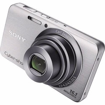 Câmera Digital Sony Cyber- Shot Dsc-w630 16.1mp 2.7 Lcd Nova
