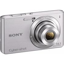 Câmera Digital 14.1mp - Sony Dsc-w610 Prata ***nova***