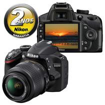 Câmera Nikon D3200 Prof + Kit Lente 18-55mm Vrii Original Br