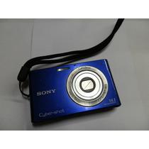 Câmera Digital Cyber-shot Dsc-w330 Azul 14.1 Mp Usada Peças
