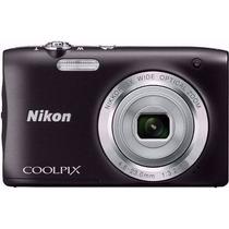 Câmera Digital Nikon Coolpix S-2900 20.1mp Bolsa Micro Sd8gb
