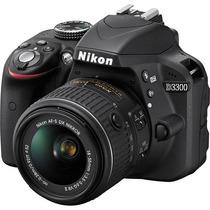Câmera Nikon D3300 Kit 18-55vr + Bolsa + Sd 32gb