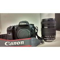 Camera Canon 7d - Corpo + Lente 18-135