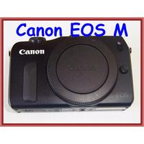 Mirrorless Canon Eos M 18mp Preta