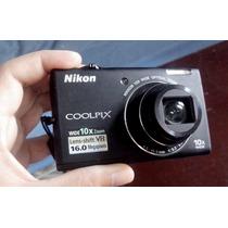 Câmera Digital Nikon Coolpix S6200, 16 Mp, 10x , Hd