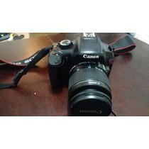 Câmera Fotográfica Canon T3 Rebel 10k Cliques