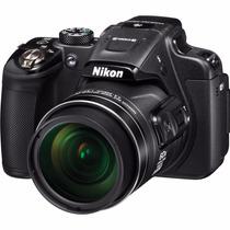 Câmera Nikon P610 16.mp 60x Gps+wifi+32gb+bolsa+mini Tripé