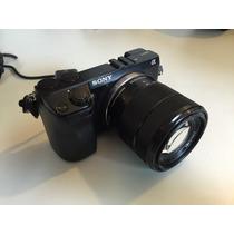 Camera Sony Alpha Nex-7 + Lente 18-55mm