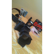 Camera Proficional Canon T4i Com Grip E 2 Baterias