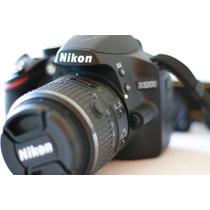 Câmera Digital Nikon D3200 Lente 18-55mm Bolsa Microsd 32gb