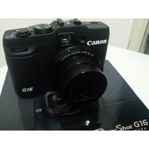Câmera Digital Cânon G16, Wifi, Zoom Óptico 5x (