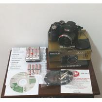 Câmera Digital Fujifilm Finepix S2950 Completa C/ Carregador