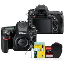 Câmera Digital Nikon D750 Corpo Full Frame + Kit +32gb C/10