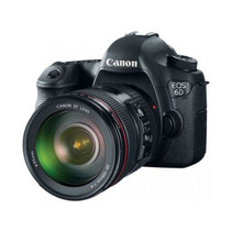 Canon 6d Com Lente 24-105mm F/4.0l Is Usm Af + Nota Fiscal