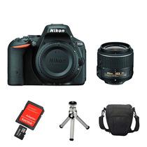 Câmera Nikon D5500 Kit 18-55 + 32gb Case Tripé E Kit Limpeza