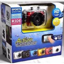 Filmadora Camera Digital Hd720p Esporte Mergulho Capacete