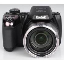 Câmera Digital Kodak Pixpro Az521 16.0mp 3.0 Preta 52x