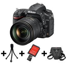 Camera Nikon D750+lente 24-120mm+32gb+bolsa+mini Tripé
