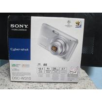 Câmera Digital Sony Cyber-shot Dsc-w310 12.1 Mp