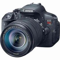Câmera Canon Eos T5i +18-55 + Nota Fiscal + Garantia Canon
