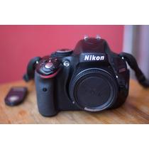 Camera Fotografica Nikon D5100 Corpo Perfeito+controle Remot