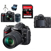 Nikon D7000 Full Hd 16.2mp+lente18-105+bolsa+32gb+tripé