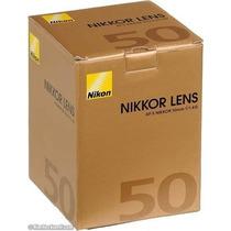 Lente Nikon Af-s Nikkor 50mm F/1.4g Alta Luminosidade.