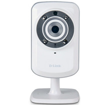 Camera De Vigilância Ip Wilress D-link Dcs-932l 4x Zoom