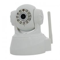 Camera Ip Wireless Controle Remoto Via Web Visão Noturno