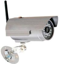 Câmera Ip De Segurança Wi-fi Infravermelho À Prova Chuva
