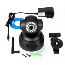 Câmera Vigilância Ip Wireless Monitoramento Via Internet Cel