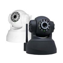 Camera Ip Ir Wireless Internet Visão Noturno Sensor Envio Já
