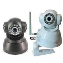 Câmera Ip Ir Wireless Controle Via Internet Entrada Micro Sd