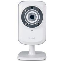 Camera De Vigilância Ip Wilress D-link Dcs-932l 4x Zoom