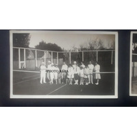 Fotografia Antiga -tênis - Esporte - Tenistas- Interior Rs