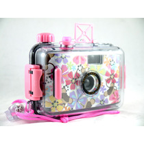 Camera Aquática Aquapix Lomo 35mm Lomography A Prova Dagua