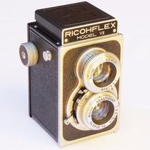 Maquina Fotográfica Profissional Ricohflex Vll Câmera Antiga