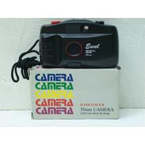 Camera/maquina Fotografica Excel 35mm Anos 70/80