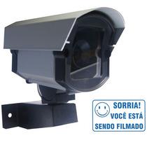 Mini Câmera Falsa Bivolt Para Segurança Residencial + Brinde