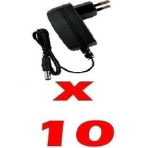 10 Fonte Bi-volt Plug P4 12v 2a Automática Para Fita Led