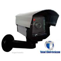 Camera De Segurança Falsa Com Led Bivolt Total Eletrônicos