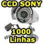 Camera Hd Ccd Sony Sharp 1000 Linhas Bilvot 220v 110v Ntsc