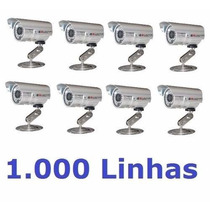 10 Cameras Cftv Infravermelho Sony Ccd Day Night 600l 40mts