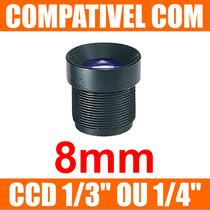 Mini Lente 8mm P/ Mini Camera E Micro Camera - Lente Cftv